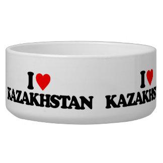 I LOVE KAZAKHSTAN DOG FOOD BOWLS