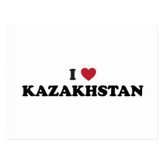 I love Kazakhstan Postcard