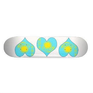 I Love Kazakhstan Skateboards