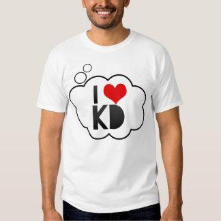 I Love KD T-shirt