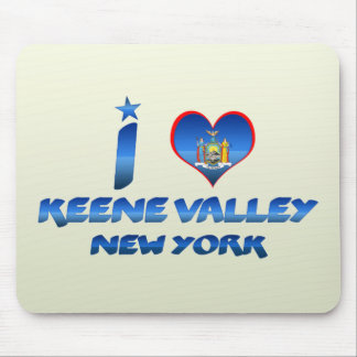 I love Keene Valley, New York Mouse Pad