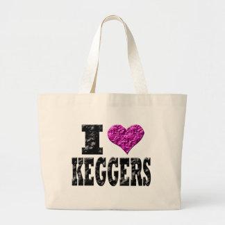 I Love Keggers Bag