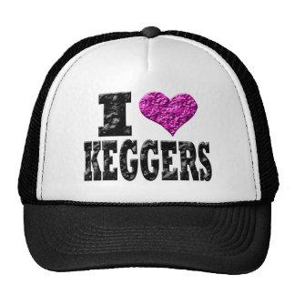 I Love Keggers Trucker Hat
