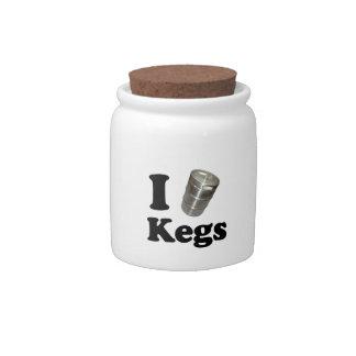I love Kegs Candy Jar