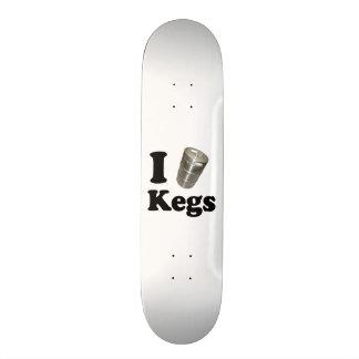 I love Kegs Skate Deck