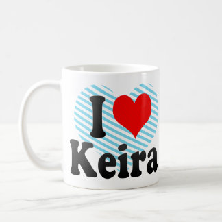 I love Keira Classic White Coffee Mug