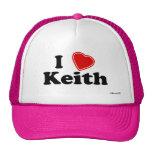 I Love Keith Hat