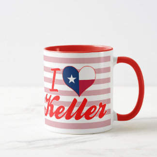 I Love Keller, Texas Mug