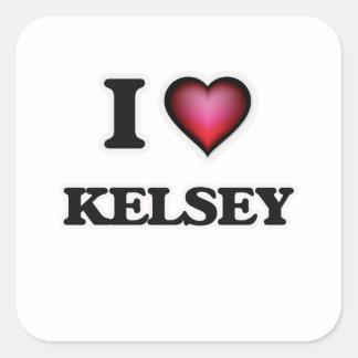 I Love Kelsey Square Sticker