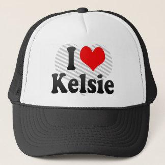 I love Kelsie Trucker Hat