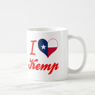I Love Kemp, Texas Mug
