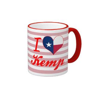 I Love Kemp, Texas Coffee Mug
