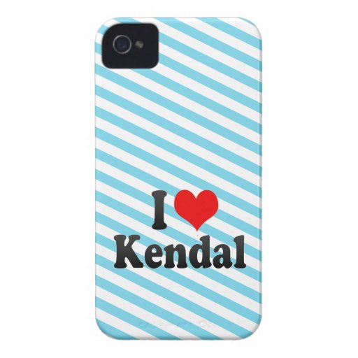 I love Kendal Case-Mate Blackberry Case