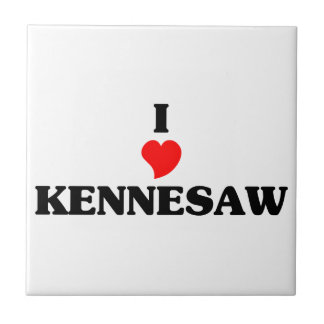 I love Kennesaw Small Square Tile