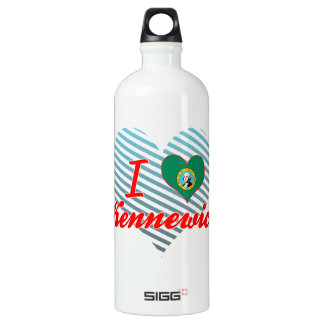 I Love Kennewick, Washington SIGG Traveler 1.0L Water Bottle