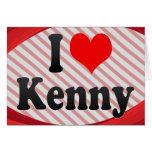 I love Kenny Card