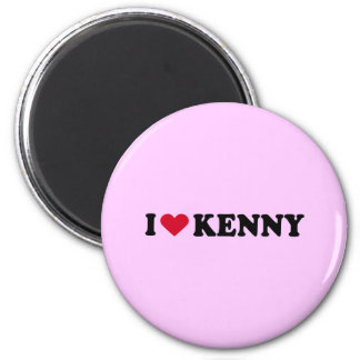 I LOVE KENNY MAGNET