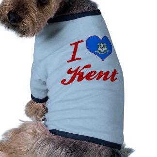 I Love Kent, Connecticut Pet Clothing
