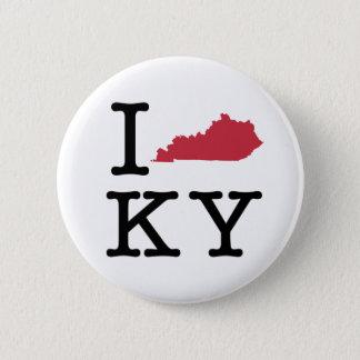 I Love Kentucky Pinback Button
