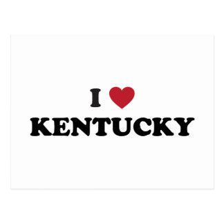 I Love Kentucky Postcards