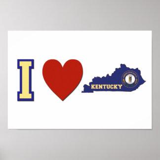 I Love Kentucky Poster