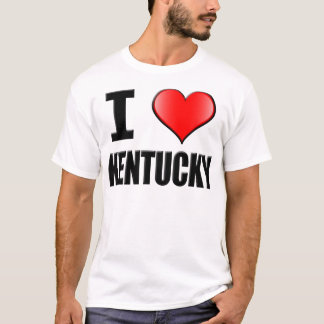 I Love Kentucky T-Shirt - Mens