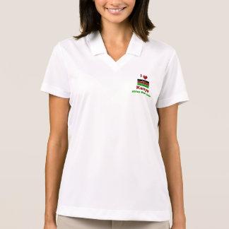 I Love Kenya, Africa Must Unite Polo T-shirts