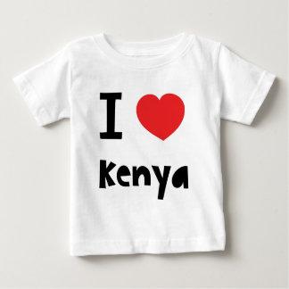 I love Kenya Baby T-Shirt