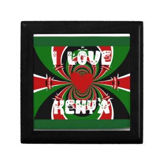 I Love Kenya Hakuna Matata Gifts Gift Box