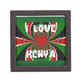 I Love Kenya Hakuna Matata Gifts Jewelry Box