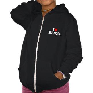 I LOVE KENYA HOODIE