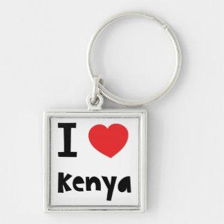 I love Kenya Keychain