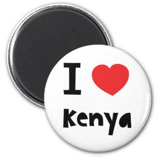I love Kenya Magnet