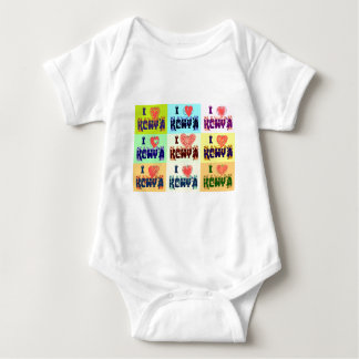 I love Kenya.png Baby Bodysuit