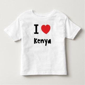I love Kenya Toddler T-shirt