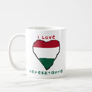 I love Keresztanya Mug