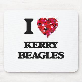 I love Kerry Beagles Mouse Pad