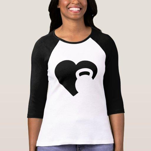 I Love Kettlebell T-shirts