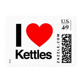 i love kettles stamps