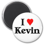 I love kevin 2 inch round magnet