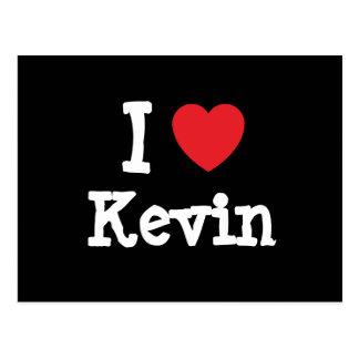 I love Kevin heart custom personalized Postcard