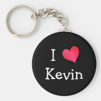 I Love Kevin Keychain