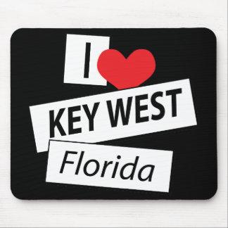 I Love Key West Florida Mouse Pad