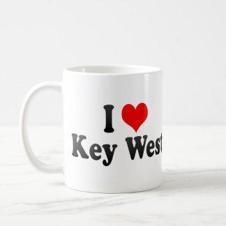 I Love Key West, United States Mugs