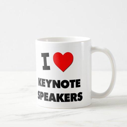 I Love Keynote Speakers Classic White Coffee Mug