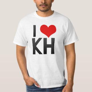 I Love KH T Shirt
