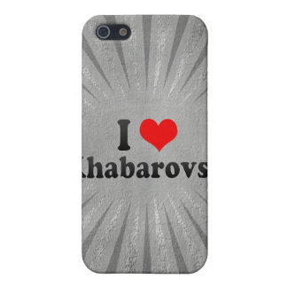I Love Khabarovsk, Russia Cover For iPhone 5