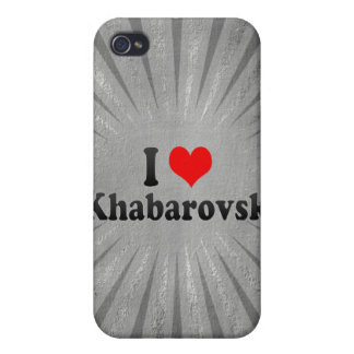 I Love Khabarovsk, Russia iPhone 4 Case