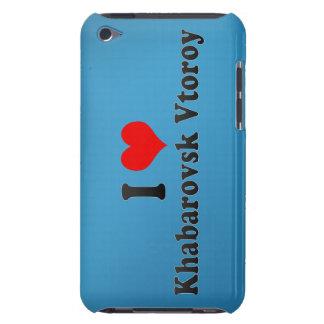I Love Khabarovsk Vtoroy, Russia iPod Touch Cover