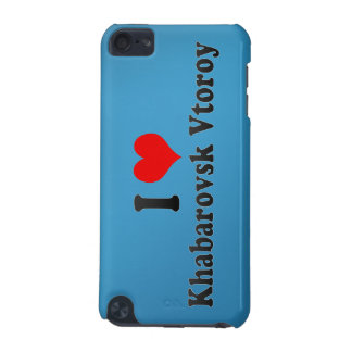 I Love Khabarovsk Vtoroy, Russia iPod Touch (5th Generation) Cover